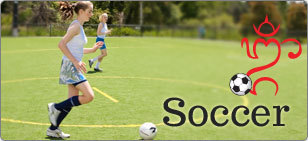 Soccer  sportswear and apparel for teen girls