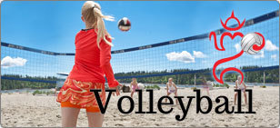 Volleyball  sportswear and apparel for teen girls